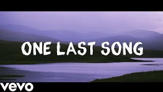 Sam Smith - One Last Song Lyrics