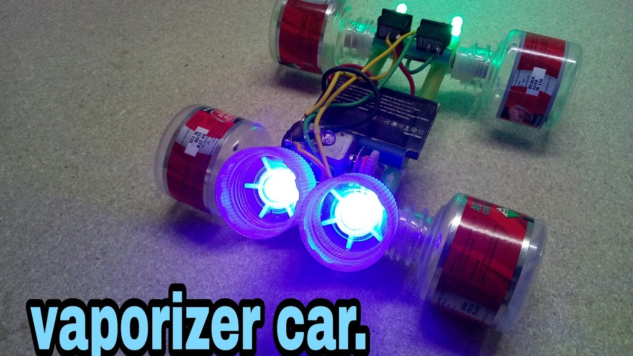 How to make a homemade toy electric car using waste for Make a product from waste material