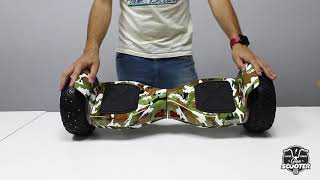 """Unboxing Hoverboard Hummer 8.5"""" Gran-Scooter"""