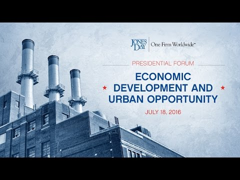 Economic Development and Urban Opportunity: July 18, 2016
