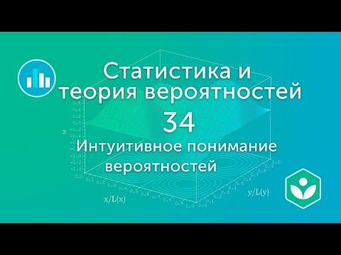 Интуитивное понимание вероятностей (видео 34)| Статистика и теория вероятностей