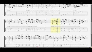 Xuân Đã Về ! Minh Kỳ (G) guitar solo tab by D U Y