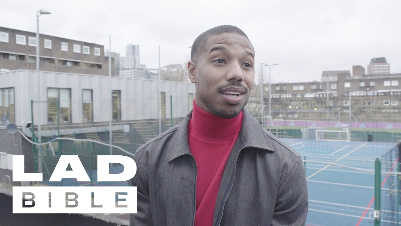 Creed II's Michael B. Jordan Surprises Kids At A London Boxing Club