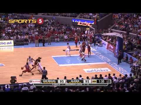 Reid and Lassiter's huge shots in crunch time | PBA Governor's Cup 2015