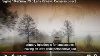 Sigma 10-20mm f/3.5 Lens Review | Cameras Direct Australia