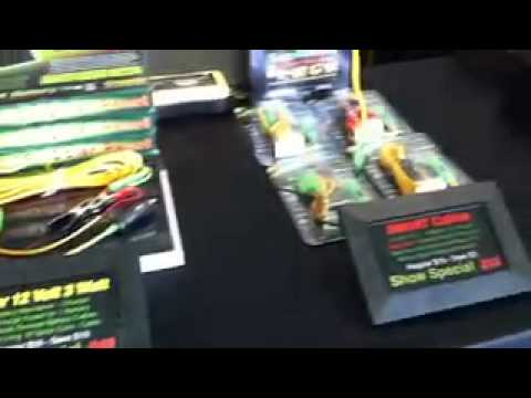 Battery Saver booth at INDY car show 2013