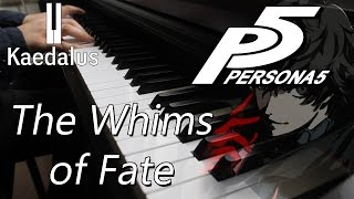 The Whims of Fate ~ Piano //Persona 5 (Casino Palace)