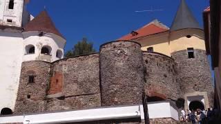 Замок Паланок в Мукачево видео тур(Замок Паланок в Мукачево. Расположение замка Паланок на горе. Местонахождение в Мукачево, смотрим карту..., 2016-07-16T12:07:09.000Z)
