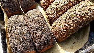 Домашний формовой хлеб  / Выпечка хлеба на ярмарку/ Хлеб на закваске