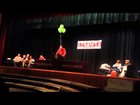 United Opt Out's Dave Greene speaking at iREFUSE March 29 2014