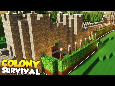 THE GATEHOUSE & MAZE! - Colony Survival Gameplay [Ep 7] - Kingdom Building!