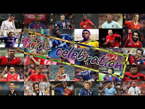 100+ Signature Goal Celebration of Famous Football Superstars   MUST WATCH !!