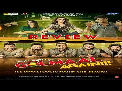 Golmaal 4 OFFICIAL  Movie Review - Ajay Devgan, Tusshar Kapoor, Parineeti Chopra, Arshad Warsi