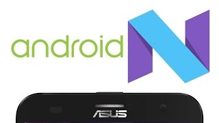 Android Nougat 7.1 no Asus Zenfone 2 - ROM AICP 12.1 review pt-br