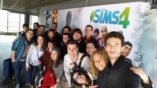 Vlog - Evento Los Sims 4: ¡A Trabajar! en Electronic Arts Madrid