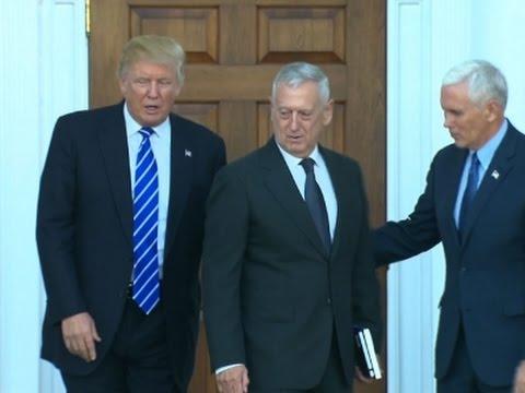 Trump Picks Gen. 'Mad Dog' Mattis for Defense
