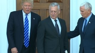 Trump Picks Gen. Mad Dog Mattis for Defense