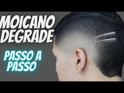Download Corte moicano degrade passo a passo, Melhor aula para barbeiro
