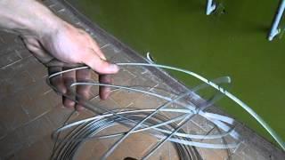 Как правильно и быстро намотать сварочную проволоку для газосварки(Видео намотки газосварочной проволоки., 2014-07-17T15:17:22.000Z)