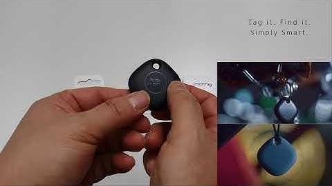 삼성 갤럭시 스마트태그 EI-T5300 SmartThings 갤럭시기기 연결 방법입니다.
