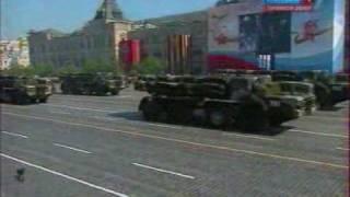 Парад Победы 9 мая 2010 в Москве (Техника)
