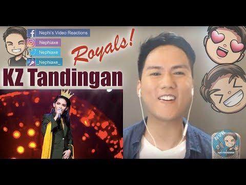 KZ Tandingan  - Royals | Singer 2018 Ep  9 | REACTION