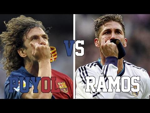 Carles PUYOL VS Sergio RAMOS//DUELO DE LEYENDAS HIGHLIGHTS HD