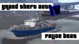 GTA 4 [NL] police boat