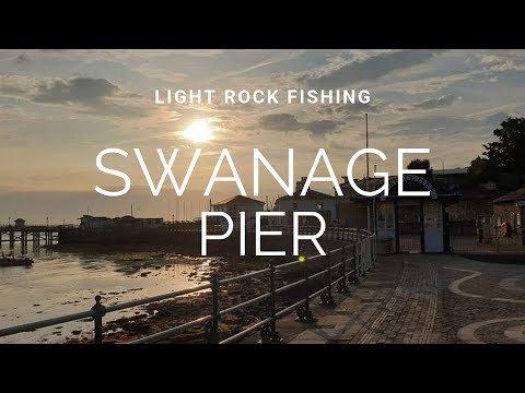 Light Rock Fishing - Swanage Pier