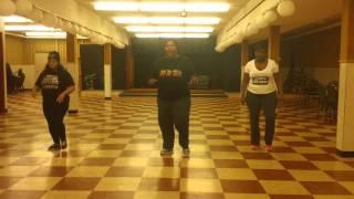 Instructional for Wine & Work Line Dance by Nzinga