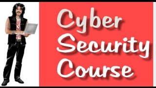 Cyber Security Class: 1 Introduction.  Learn Internet Security. CyberSecurity 101