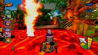 Cartoon Network Racing - Volcano Island [PS2]