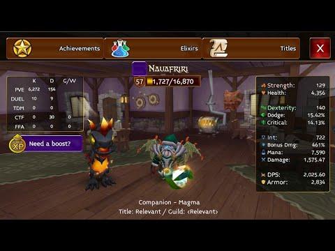 Arcane Legends  Buying Protection Staff (V)