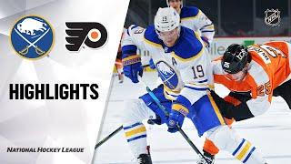 NHL Highlights | Sabres @ Flyers 1/19/21
