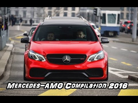 Mercedes-AMG Compilation 2016 - AMG GTS, SLS, C63, E63, CLS63!