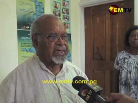 Grand Chief Sir Michael Somare on Current PNG Election