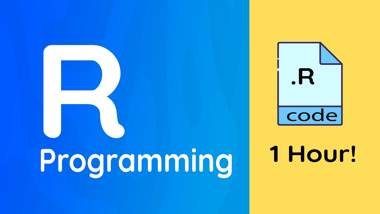 Learn R Programming Full Course: 1 hour!