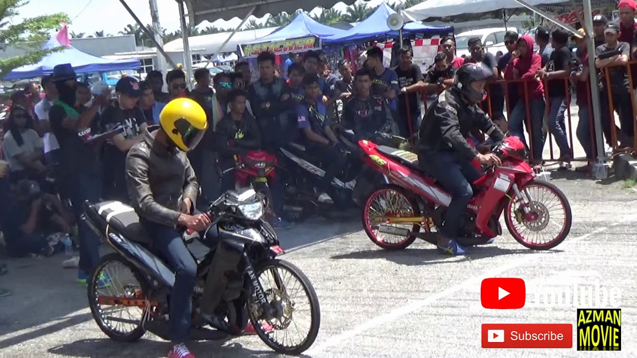 PART 11/18 125cc Sprint Test Drag Racing Kubang Menerong Mac 2018