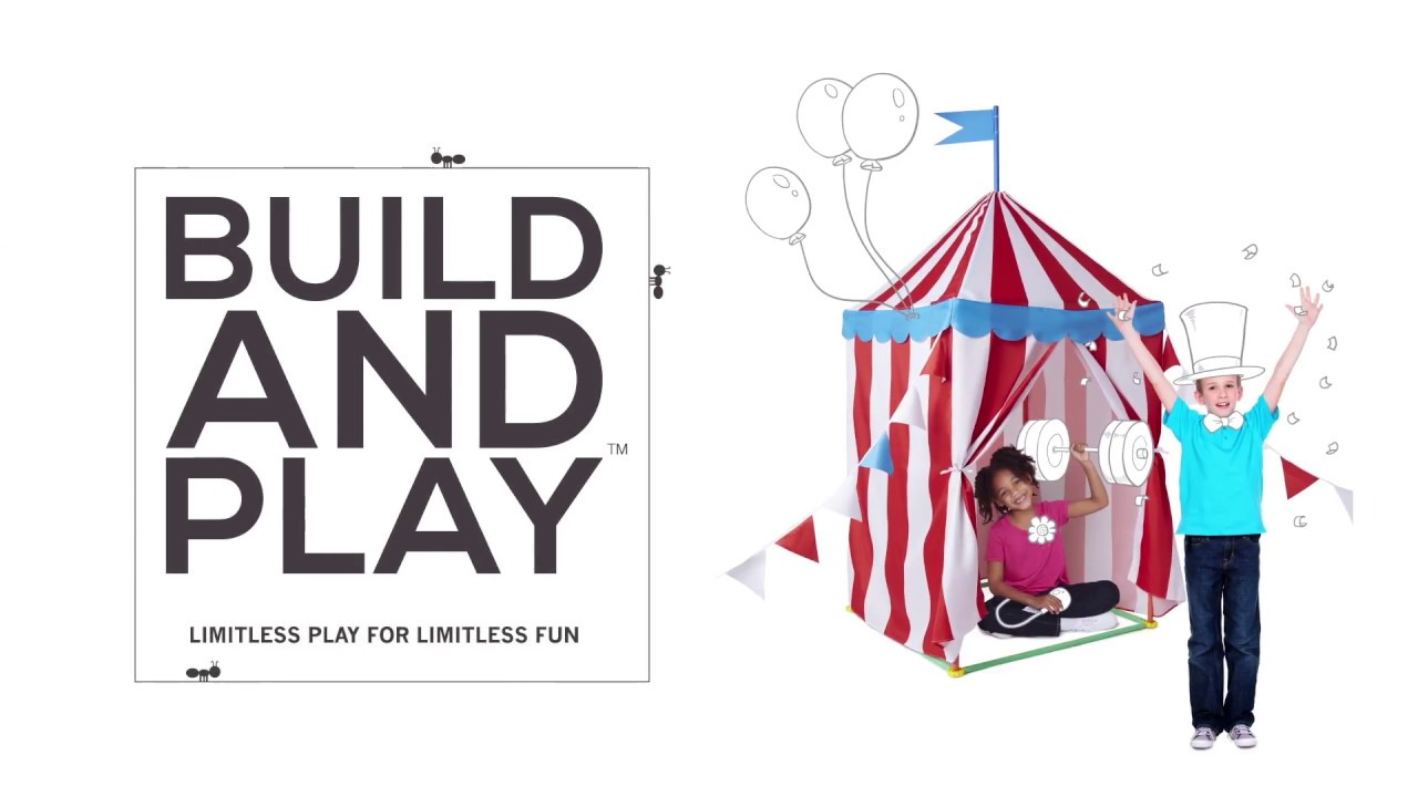 How-To Build And Play Circus Tent  sc 1 st  YouTube & How-To Build And Play: Circus Tent - YouTube