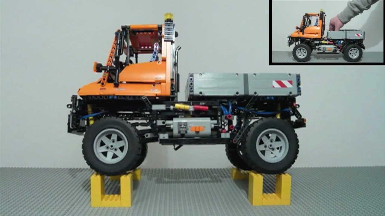lego technic 8110 mercedes benz unimog u 400 built in. Black Bedroom Furniture Sets. Home Design Ideas