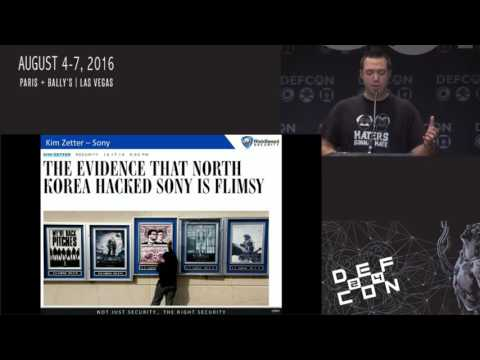 DEF CON 24 - Jake Kouns - Cyber Who Done It:  Attribution Analysis Through Arrest History
