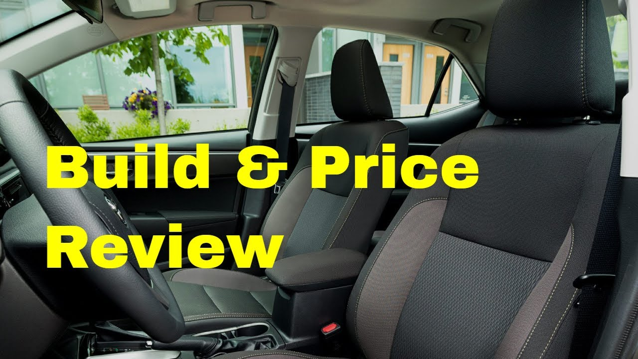 Toyota Build And Price >> 2019 Toyota Corolla Se W Trd Accessories Build Price Review