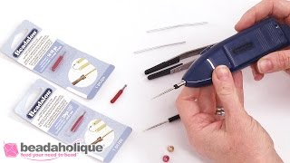 How to Use the Battery Operated Beadalon Bead Reamer