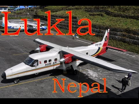 Lukla airport • One of the world's most dangerous airports.