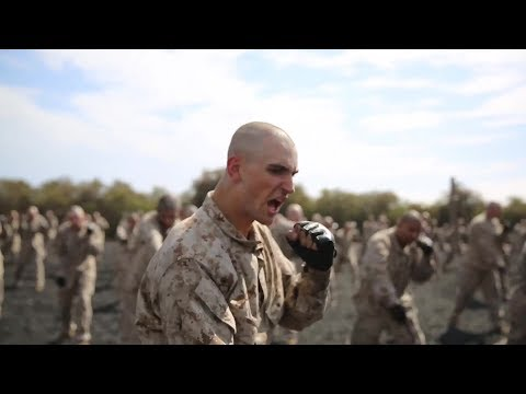 2018 Recruit Training at Marine Corps Recruit Depot, Parris Island