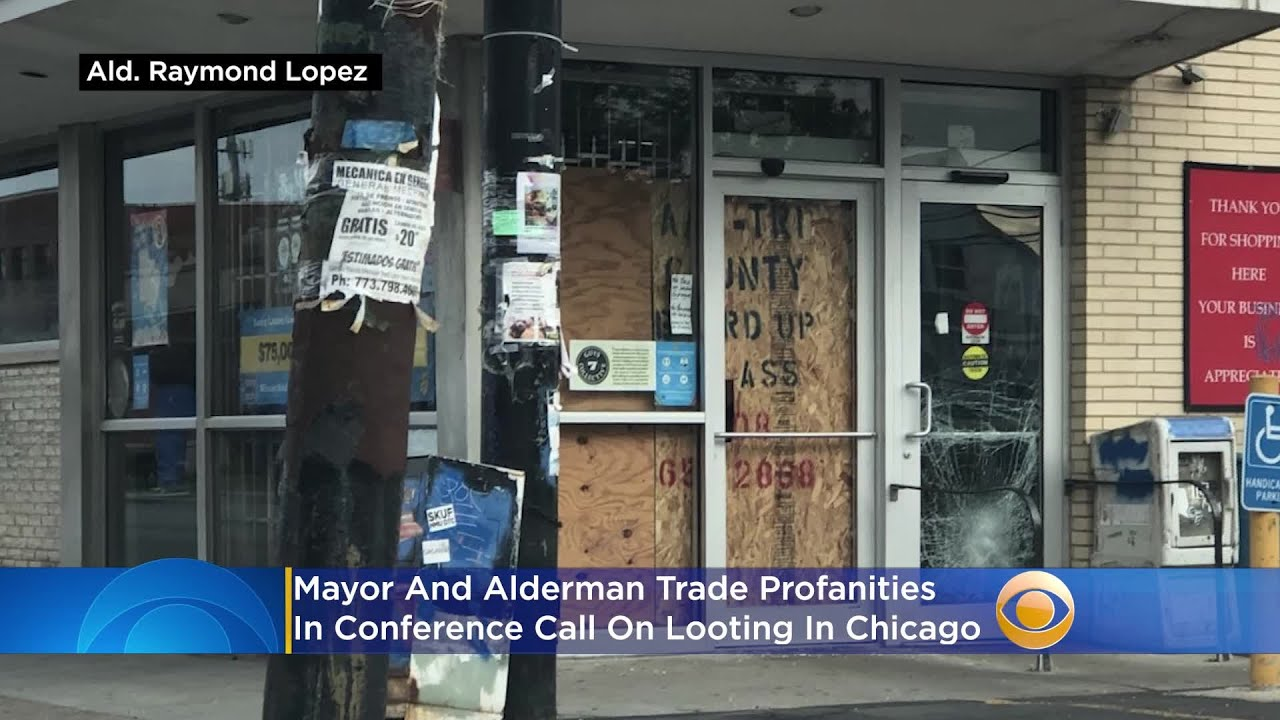 Mayor And Alderman Trade Profanities In Conference Call On Looting In Chicago