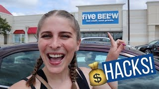DORM ROOM DECOR HACKS on a Budget | Shopping at 5 Below, Dollar Tree, & Wal-Mart | My Drifting Desk