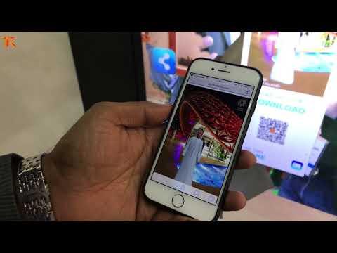 Virtual Dressing Room - Sharjah Stand, Gitex 2017