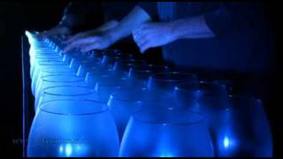 Bach - Toccata and Fugue in D, Glass Harp / glasharfe (part 1/2)