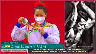 Salman Khan Is My Favourite Actor I Like His Body- Tokyo Olympics Silver Medal Winner Mirabai Chanu